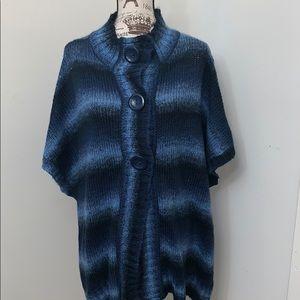 Covington Snap front  Sweater 20W- 22W